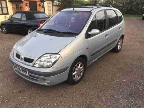 renault scenic 2001 interior renault 2001 scenic 1 6 16v automatic rxe car for sale