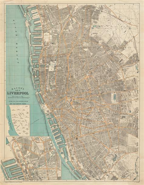 Union Jack Home Decor liverpool 1900 majesty maps amp prints
