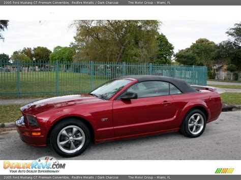 2005 Ford Mustang Convertible by 2005 Ford Mustang Gt Premium Convertible Redfire Metallic