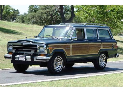 jeep wagoneer for sale 1991 jeep wagoneer for sale classiccars com cc 1015375