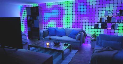 nanoleaf canvas  light   entire wall color