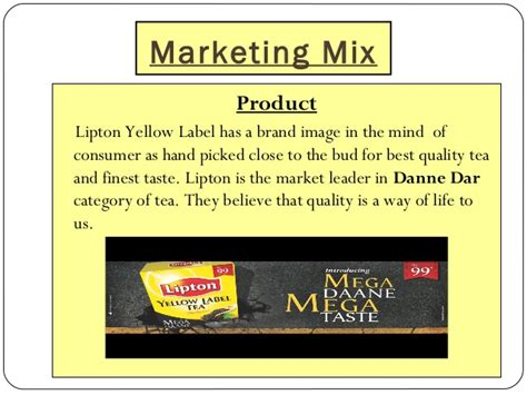 Arizona State Mba 24 Months by Lipton Presentation Made By Syed Hassan Shahbaz Mba