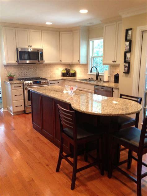 granite kitchen island table quot after quot kitchen renovation new venetian gold brazil granite backsplash white