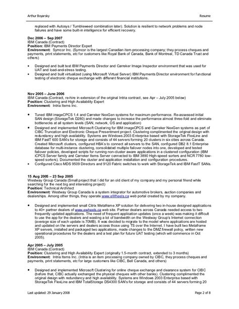 Resume Format For Contract Work Resume Format For Contract Work