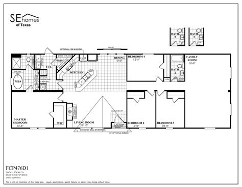 southern homes mobile homes floor plans home design and