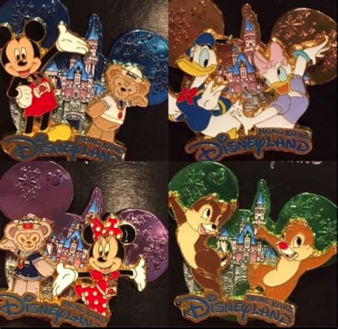Pin Disney Hongkong hong kong disneyland castle pins 2017 disney pins