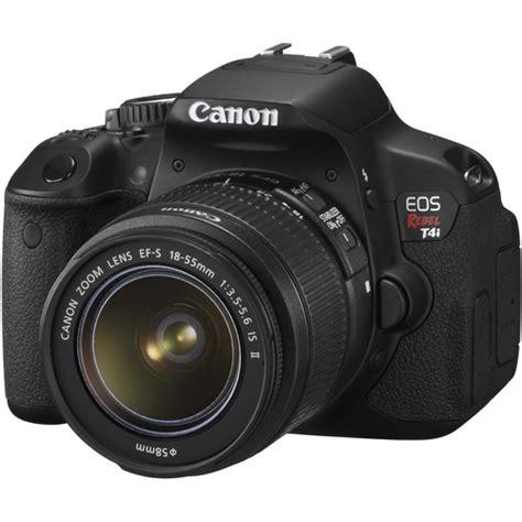 digital with lens canon eos rebel t4i digital w ef s 18 55mm f 3 5 5