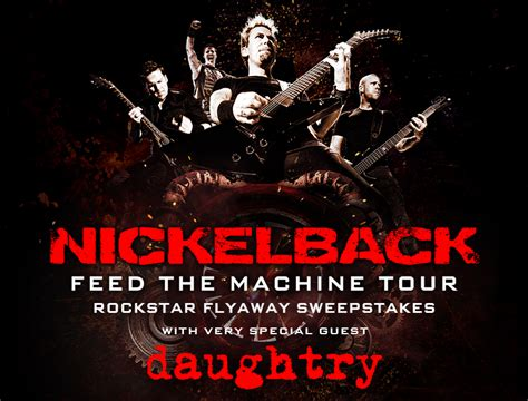 Live Nation Sweepstakes 2017 - live nation giveaway win trip to see nickelback daughtry live in mansfield ma