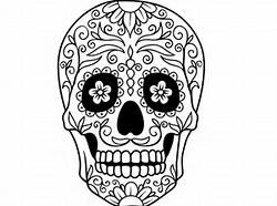 Calaveras Mexicanas Dibujos Para Colorear