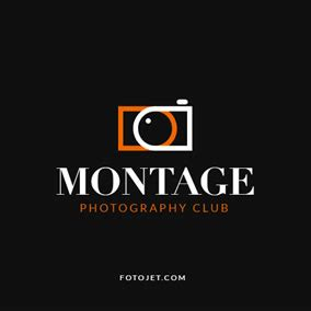 design your free photography logos online | fotojet