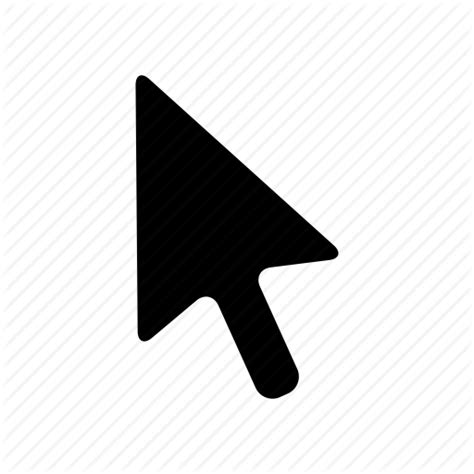 Pointer Lookup Black Mouse Pointer Png