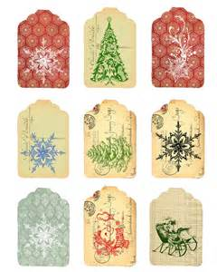 Free christmas tags vintage printable christmas pinterest