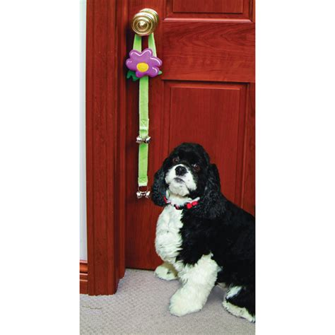 how to your to use a bell puppy door bell poochie housebreaking potty doorbell ebay