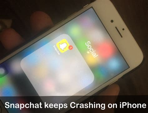 solved snapchat keeps crashing on iphone xs max xs xr x 8 7 6s 6 se 5s