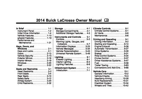 motor repair manual 2005 buick lacrosse user handbook 2005 buick lacrosse owner manual m image collections diagram writing sle ideas and guide