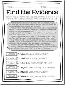 If you liked my freebies for finding text evidence be sure to check
