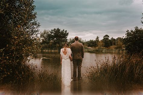 david and s relaxed diy wedding in