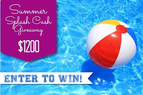 Summer Cash Giveaway - summer splash cash giveaway