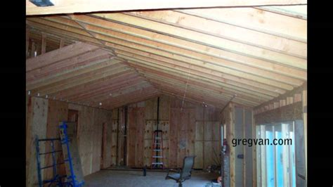 Remodeling A House by Long Sagging Double Roof Rafters Structural Engineering