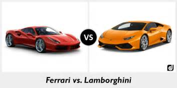 Pictures Of Ferraris And Lamborghinis Difference Between And Lamborghini