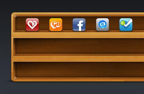icon shelf vector image 365psd