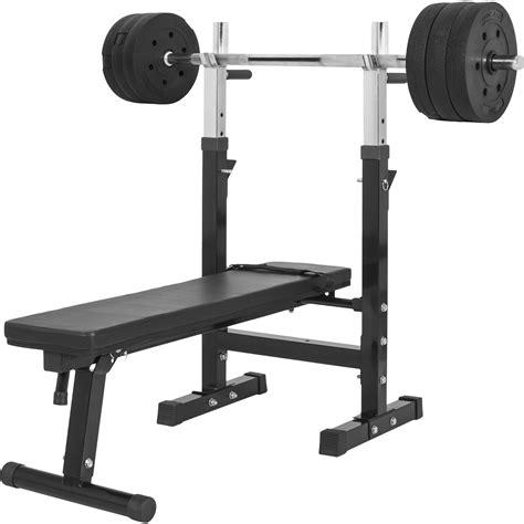 banc sport banc de musculation gs006 set disques en plastiques et