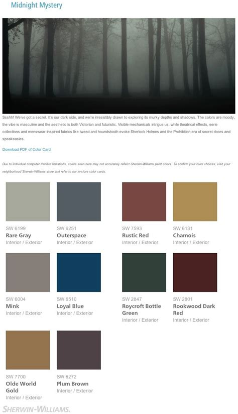 interior color palette sherwin williams interior paint colors www imgkid com
