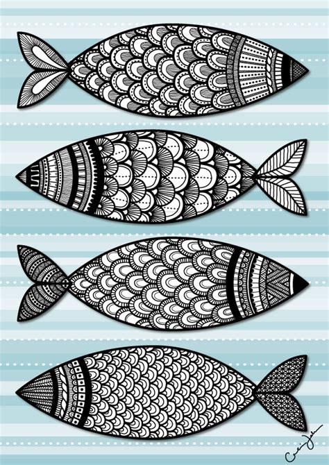 pattern drawing fish thecarolinejohansson com tag archive fish