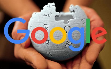 google imagenes wiki google says wikipedia is good at getting links to