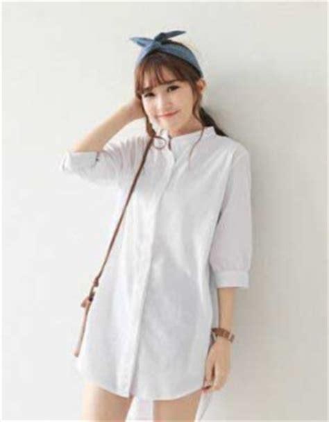 Baju Fashion Import Wanita Cewek Atasan Blouse Brokat 1 model baju blouse korea newhairstylesformen2014