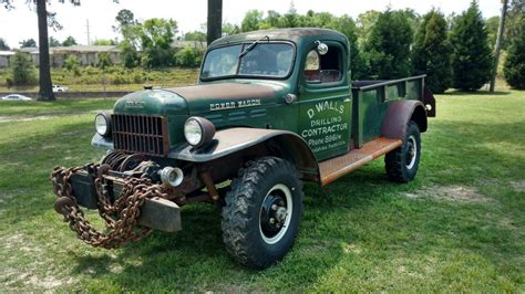 Chains Not Included: 1949 Dodge Power Wagon