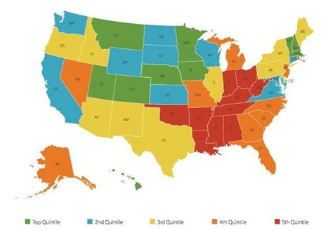 happiest states in the us the 10 happiest states in the u s