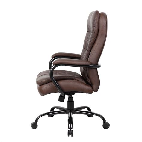 Heavy Duty Office Chairs by Heavy Duty Office Chair In Bomber Brown B991 Bb