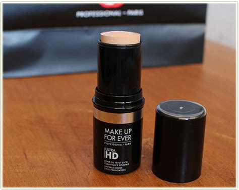 Makeup Forever Hd Stick makeup forever ultra hd foundation stick 117 mugeek