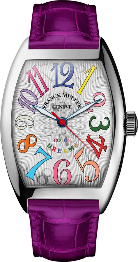 Franck Muller Infinity Colour Dreams White franck muller watches time square cologne