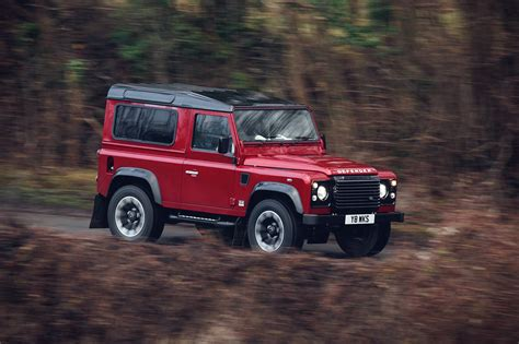 70s land rover land rover defender works v8 70th edition news by car magazine