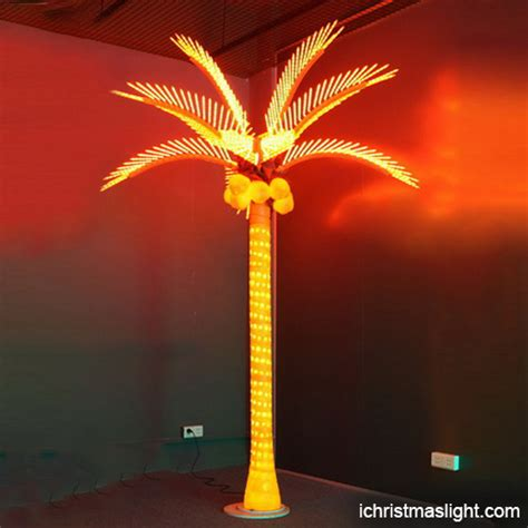 outdoor led lighted palm trees for sale ichristmaslight
