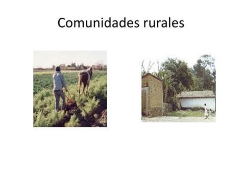 imagenes de viviendas urbanas y rurales ppt tipos de comunidades powerpoint presentation id