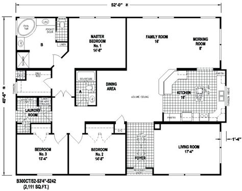 Large Modular Home Floor Plans by Wide Manufactured Home Floor Plans Gurus Floor