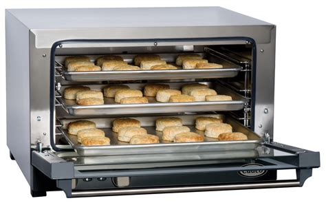 table top oven 25l new cadco convection oven half size 3 shelves electric