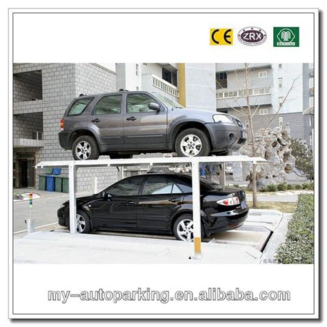 Stacking Cars In Garage by Idential Pit Garage Stack Parking System Car Stacker