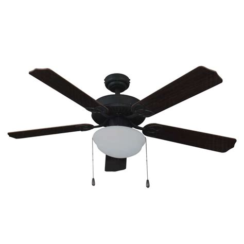Ceiling Fans W Lights Kms 44607 Living Traditions 52 In Tri Mount Ceiling Fan W Light Bronze At Sutherlands