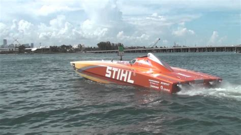 offshore racing boats videos stihl offshore racing 22nd annual miami super boat grand