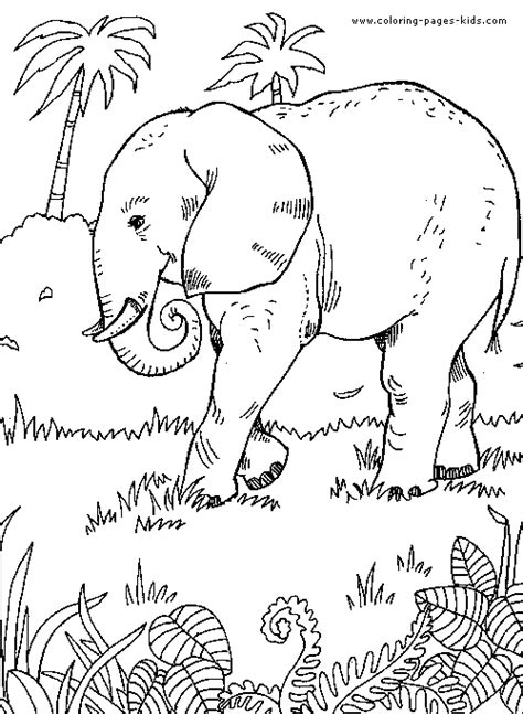 coloring pages animals jungle safari animal coloring pages bestofcoloring com