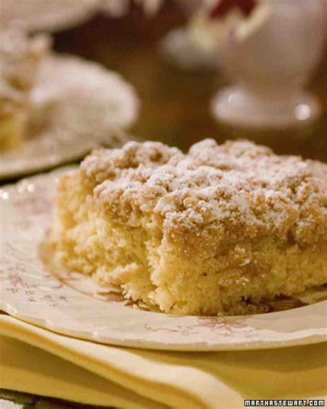 New York Crumb Cake Recipe & Video   Martha Stewart