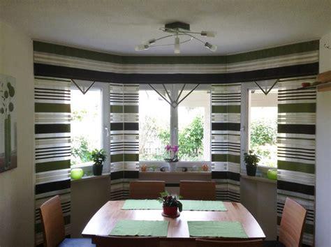 erker design esszimmer - Vorhänge Esszimmer Modern