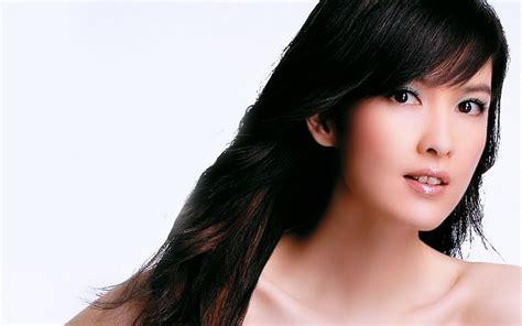 hong kong star latest hair style lady head of the hong kong star vivian chow wallpaper 3