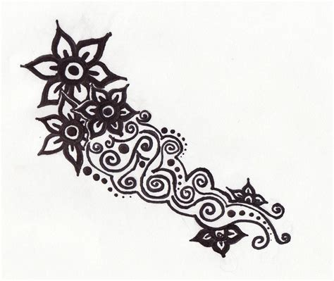 henna tattoo designs printable flower henna ink by beffychan on deviantart