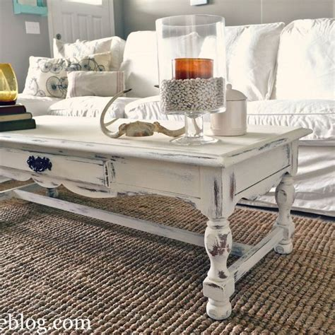 shabby chic coffee table decor 1000 ideas about white coffee tables on