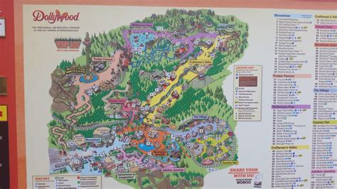 dollywood map dollywood discussion thread page 1376 theme park review